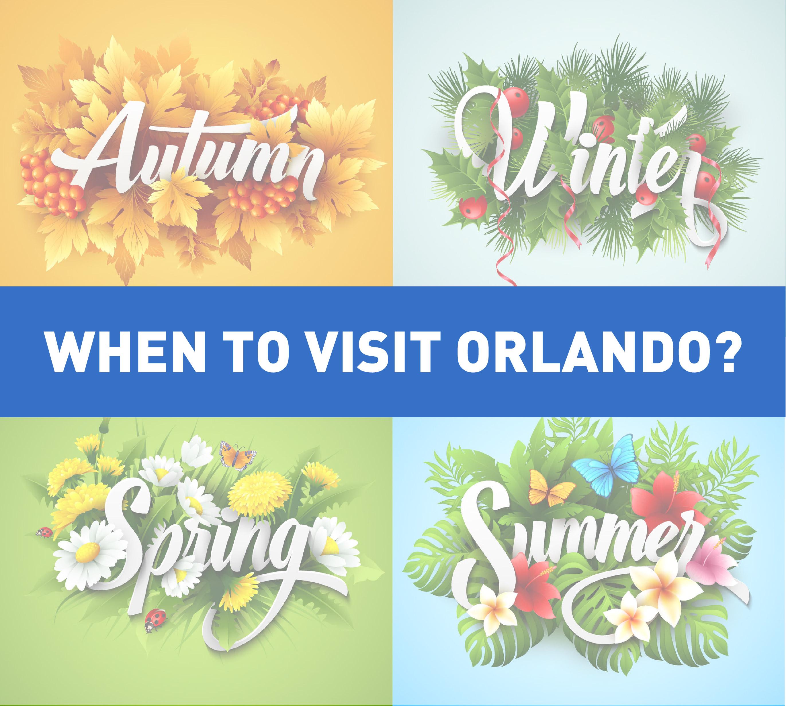 When to visit Orlando?